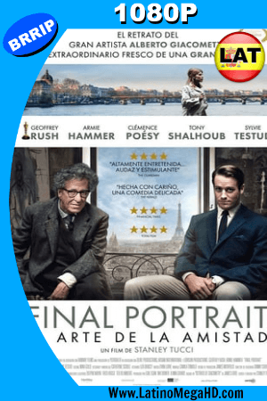 Final Portrait. El arte de la amistad (2017) Latino HD 1080P ()