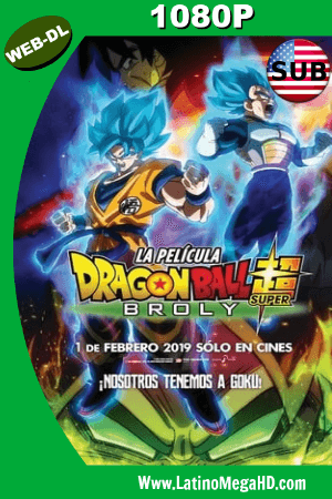 Dragon Ball Super: Broly (2018) Subtitulado HD WEB-DL 1080P ()