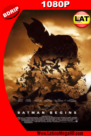 Batman Inicia (2005) Latino HD BDRIP 1080P ()