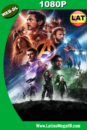 Avengers: Infinity War (2018) V. Open Matte Latino Full HD WEB-DL 1080P ()