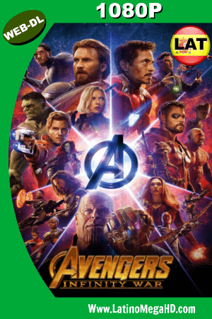 Avengers: Infinity War (2018) Latino HD WEB-DL 1080P - 2018