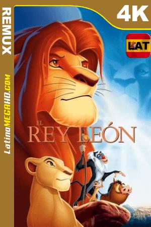 El rey león (1994) Latino UltraHD BDREMUX 2160p ()