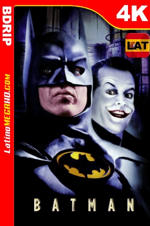 Batman (1989) Latino Ultra HD BDRip 2160p ()