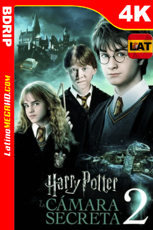 Harry Potter y la cámara secreta (2002) Latino HD BDRip 4K ()