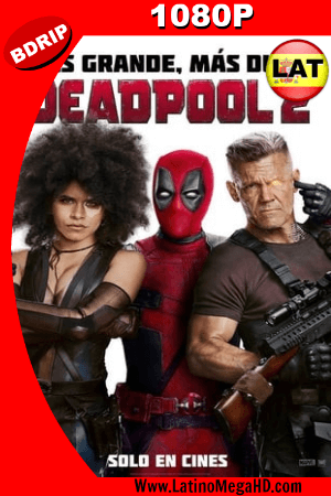 Deadpool 2 (2018) Super Duper Cut Latino HD BDRIP 1080p ()