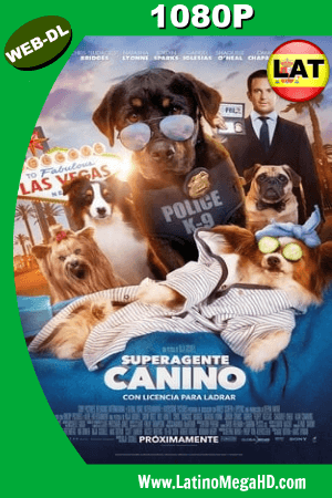 Superagente Canino (2018) Latino HD WEB-DL 1080P ()