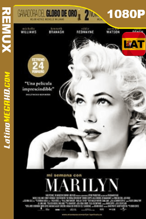 Mi semana con Marilyn (2011) Latino HD BDREMUX 1080p ()