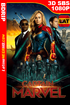 Capitana Marvel (2019) Latino Full 3D SBS BDRIP 1080P ()