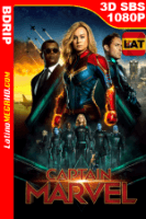 Capitana Marvel (2019) Latino Full 3D SBS BDRIP 1080P - 2019