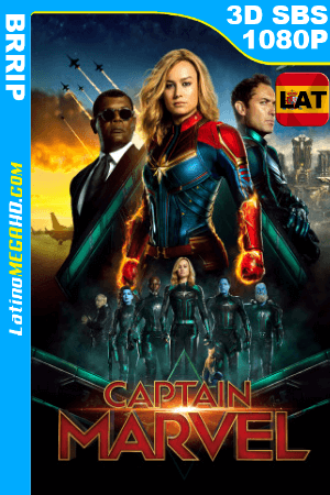 Capitana Marvel (2019) Latino Full 3D SBS 1080P ()