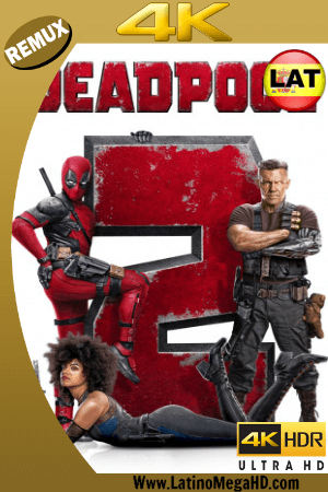 Deadpool 2 (2018) Super Duper Cut Latino Ultra HD BDREMUX 2160P ()