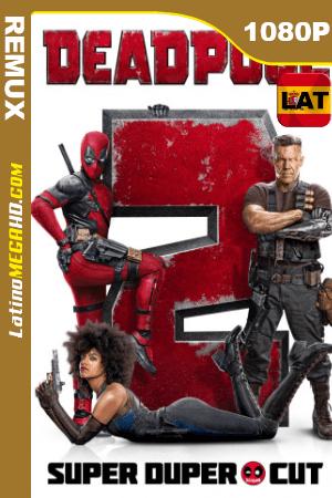 Deadpool 2: Super Duper Cut (2018) Unrated Latino HD BDRemux 1080P ()