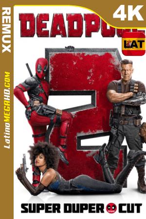 Deadpool 2: Super Duper Cut (2018) Latino HDR Ultra HD BDREMUX 2160P ()