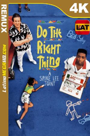 Haz lo correcto (1989) Latino UltraHD BDREMUX 2160p ()