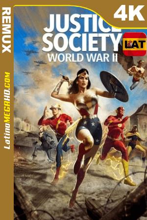 La Sociedad de la Justicia de América: Segunda Guerra Mundial (2021) Latino HDR Ultra HD BDRemux 2160P ()
