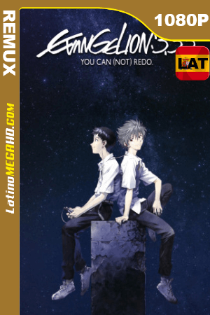 Evangelion: 3.33 You Can (Not) Redo (2012) Latino HD BDRemux 1080P ()