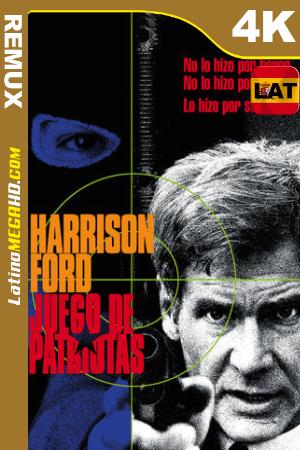 Juego de patriotas (1992) Latino UltraHD BDREMUX 2160p ()