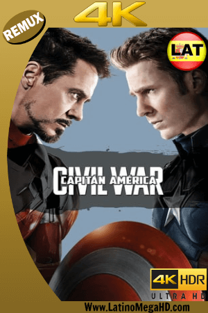 Capitán América: Civil War (2016) Latino Ultra HD BDRemux 2160P ()