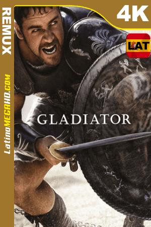 Gladiador (2000) Latino UltraHD BDREMUX 2160p ()