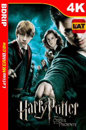Harry Potter y la orden del Fénix (2007) Latino HD BDRip 4K ()