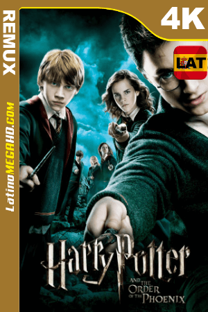 Harry Potter y la orden del Fénix (2007) Latino HDR Ultra HD BDRemux 2160P ()