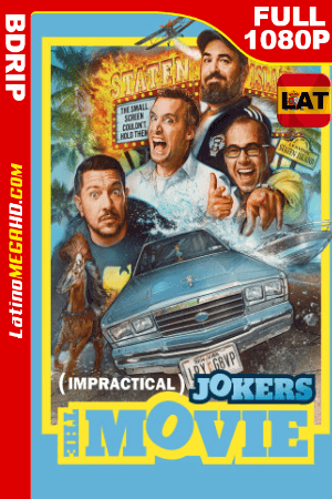 Impractical Jokers: La película (2020) Latino HD BDRIP 1080P ()
