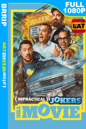 Impractical Jokers: La película (2020) Latino HD BRRIP 1080P ()