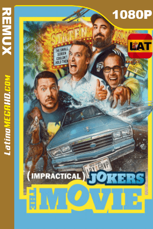 Impractical Jokers: La película (2020) Latino HD BDREMUX 1080P ()