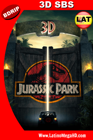Jurassic Park (1993) BDRIP 3D SBS 1080p Dual Latino-Ingles HD