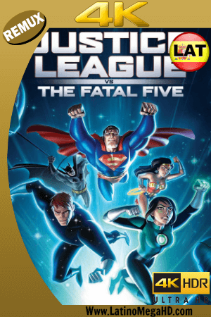 Justice League vs. the Fatal Five (2019) Latino Ultra HD BDRemux 2160P ()
