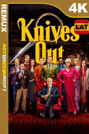 Knives Out (2019) Latino HDR Ultra HD BDRemux 2160P - 2019