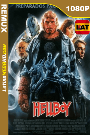 Hellboy (2004) Remaster Latino HD BDRemux 1080P - 2004
