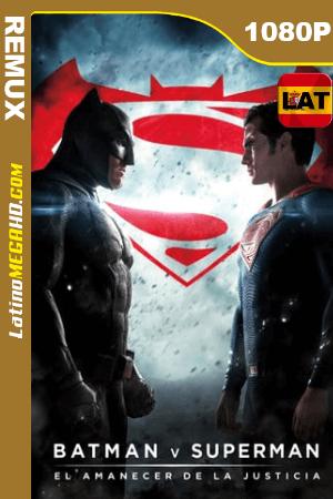 Batman v Superman: El amanecer de la justicia (2016) Extended Latino HD BDRemux 1080P ()