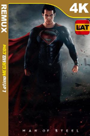 El hombre de acero (2013) Latino UltraHD BDREMUX 2160p ()
