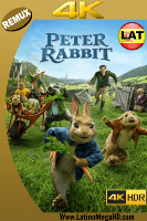 Las Travesuras de Peter Rabbit (2018) Latino Ultra HD BDREMUX 2160P - 2018