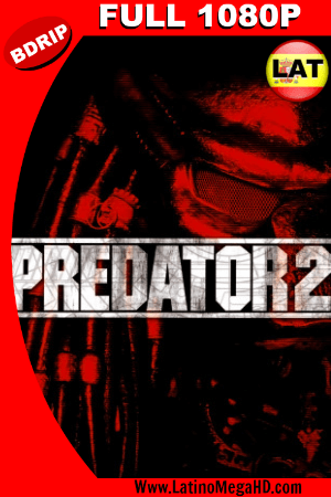 Predator 2 (1990) Latino FULL HD BDRIP 1080P ()