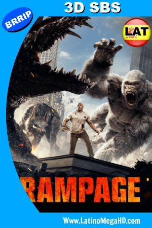 Rampage (2018) Latino Full 3D SBS 1080P ()