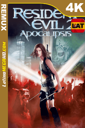 Resident Evil 2: Apocalipsis (2004) Latino UltraHD Theatrical BDREMUX 2160p ()