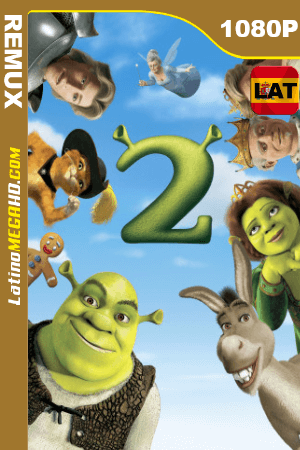 Shrek 2 (2004) Latino HD BDREMUX 1080P ()