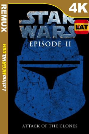 La guerra de las galaxias. Episodio II: El ataque de los clones (2002) Latino HDR Ultra HD BDREMUX 2160p ()