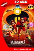 Los Increibles 2 (2018) Latino FULL 3D SBS BDRIP 1080P - 2018