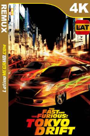 Rápido y furioso: Reto Tokio (2006) Latino HD BDRemux 4K ()