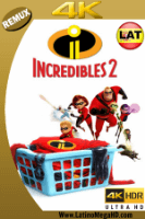 Los Increibles 2 (2018) Latino Ultra HD BDRemux 2160P - 2018