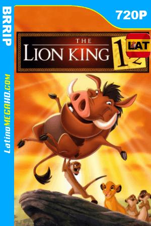 El Rey León 3 (2004) Latino HD BRRIP 720p ()