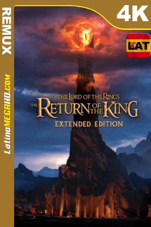El señor de los anillos: El retorno del rey (2003) Latino UltraHD Extended HDR BDREMUX 2160p ()