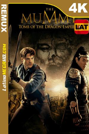 La momia: La tumba del emperador Dragón (2008) Latino UltraHD BDREMUX 2160p ()