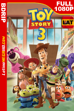 Toy Story 3 (2010) Latino FULL HD BDRIP 1080P ()