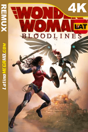 Wonder Woman: Bloodlines (2019) Latino HDR Ultra HD BDRemux 2160P ()