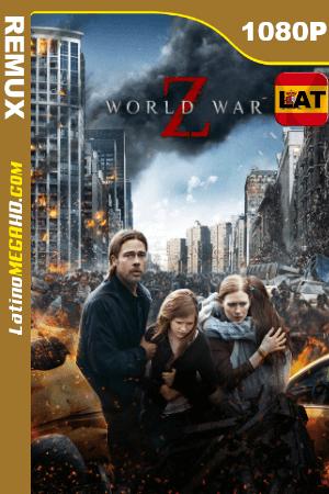 Guerra Mundial Z (2013) Latino HD BDREMUX 1080P ()