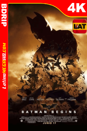 Batman inicia (2005) Latino HD BDRip 4K ()
